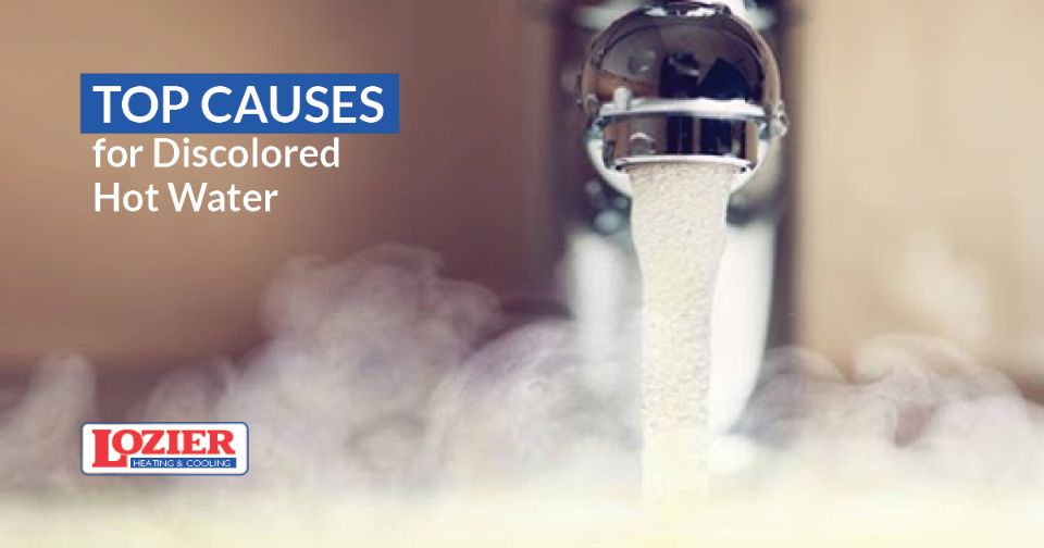 Discolored Hot Water: What it Means