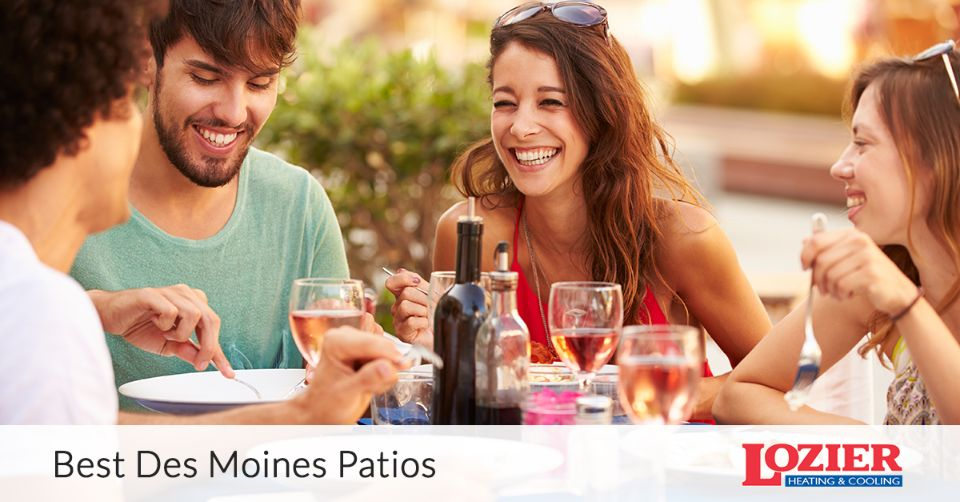 Best Patios in Des Moines