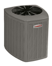 Heat pump product image.