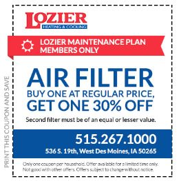 Air Filters Should Be Replaced Frequently And If You D Like To Have A Second One On Hand We Ll Give 30 Off Sure Mention The Offer When Call